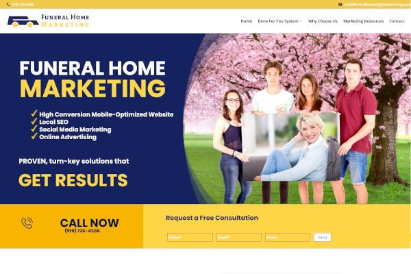funeral home digital marketing service