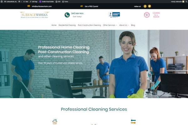 surfaceworksinc.com screenshot